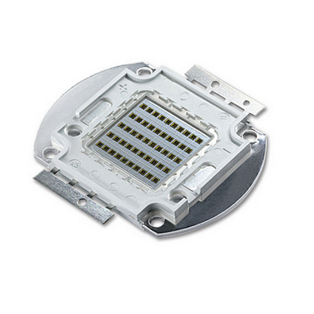 DIY Led Chip 10W 20W 30W 50W 100W COB Led Grow Chip UV/IR/620NM/520NM/455NM For DIY Led Hydroponics Indoor Plant Grow