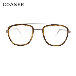 Image 3 - NEW Men eyeglasses Titanium Glasses Frame Denmark Brand Design Vintage Round prescription optical  Myopia eyewear metal