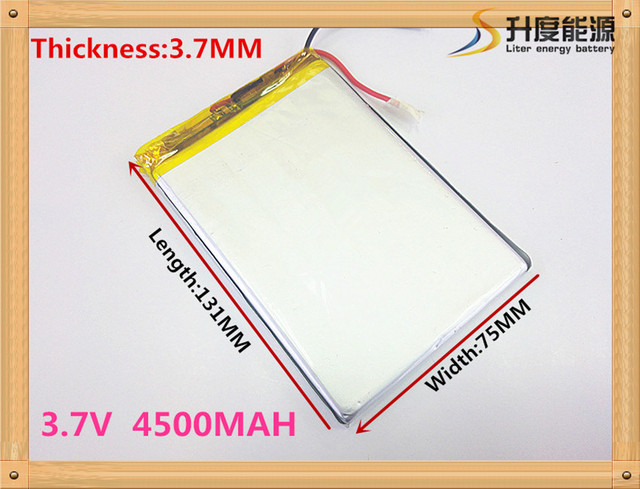 best battery brand 3775131 3.7V 4500mah Lithium Tablet polymer battery For iPad 3 Tablet PCs PDA Digital Products