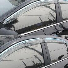 Наружные аксессуары, оконный козырек, вентиляционный козырек, защита от солнца, защита от дождя, дефлекторы 4 шт. для Toyota Corolla 2013
