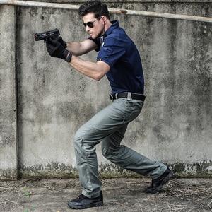 Image 3 - 2019 군사 육군 바지 남자의 도시 전술 의류 전투 바지 멀티 포켓 독특한 캐주얼 바지 ripstop 패브릭