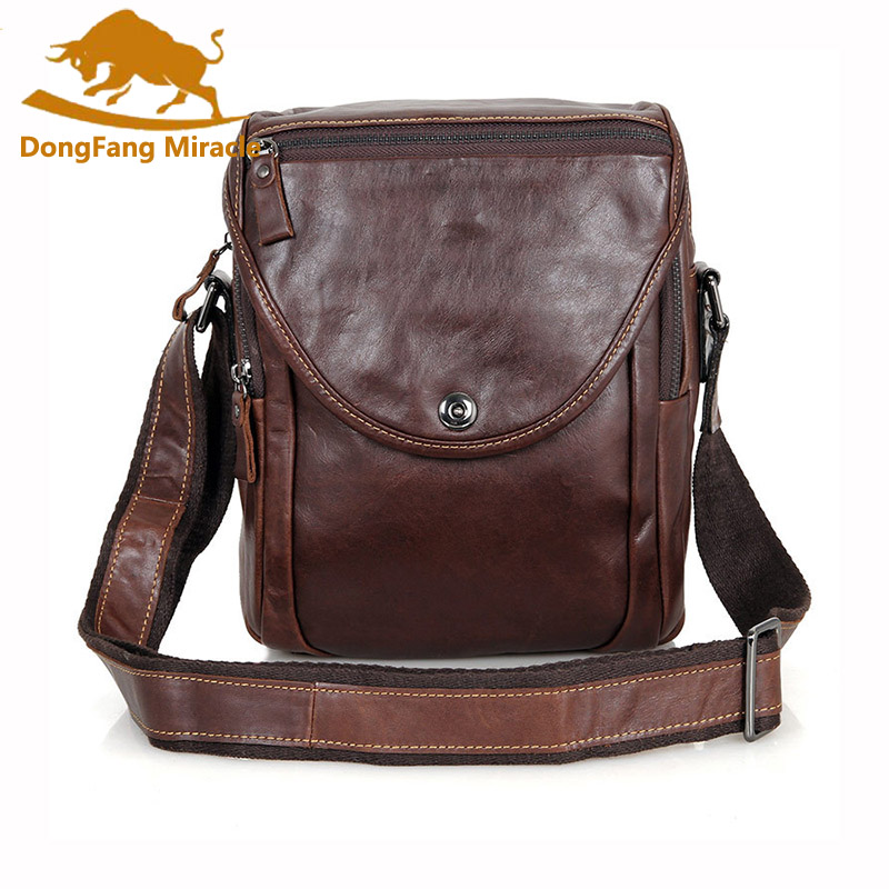 купить 100% top cow genuine leather versatile casual shoulder small men messenger bags for men soild and zipper vintage small bags онлайн
