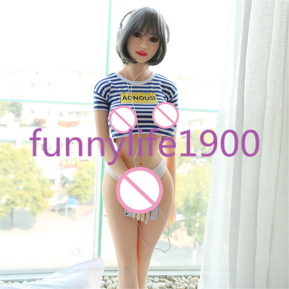 Sex Love Doll Full Solid Male Sex Robot Doll With Flexible Metal Skeleton Sex Doll 165cm Korea wife Toy Doll