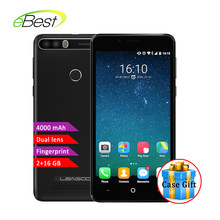 Leagoo kiicaa power smartphone Dual Kamera MT6580A Quad Core Android 7.0 4000mAh 5,0 Zoll 2GB RAM 16GB Fingerprint handy(China)