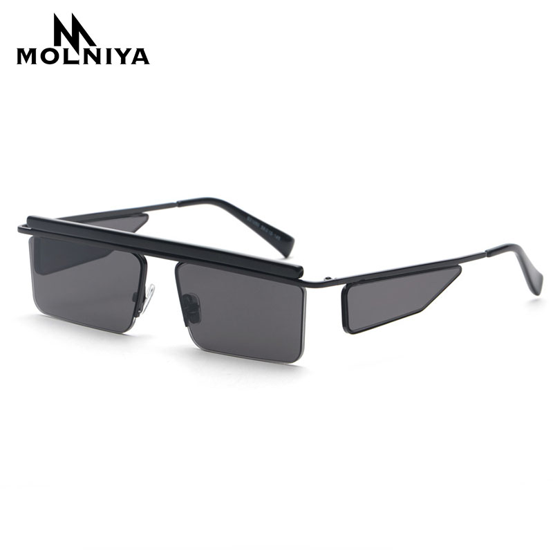MOLNIYA Square Sunglasses Women Vintage 2018 Brand Design Summer Double lens Sun Glasses For Men Gift Party Unisex uv400