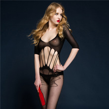 Sexy Lingerie hot Bodysuit Sexy Costumes Intimates Women Bodystocking open crotch sex products erotic lingerie Chemises qq165