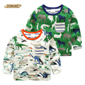Boys T Shirt Spring Cartoon Animals Baby Boy T-shirts Pokemon Boys Clothes European Style Clothing Kids T-shirt Children Tops