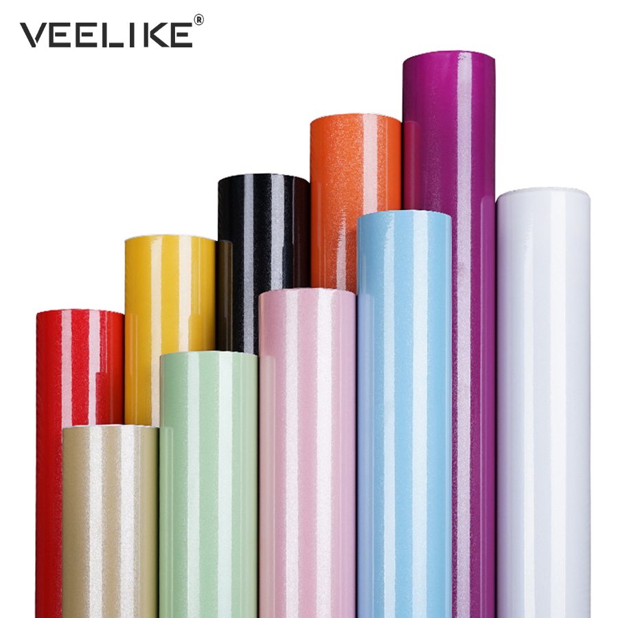 DIY de PVC Auto adhesivo papel pintado muebles película pegatinas de pared para puerta de gabinete de cocina de vinilo papel de Contacto casa decoración de la pared