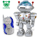 Plastic Action Figures Toys RC Intelligent Robot Toy Music Dance Robot Toy Model Birthday Christmas Gift Toys TY15