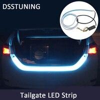 Flexible Tailgate LED Strip Light Bar Reverse Brake Turn Signal Tail Ice Blue Red Yellow Flash