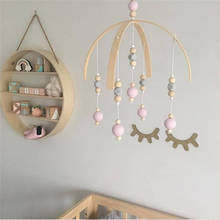 Wooden Beaded Chimes Nordic Style Wind-bell Ornament