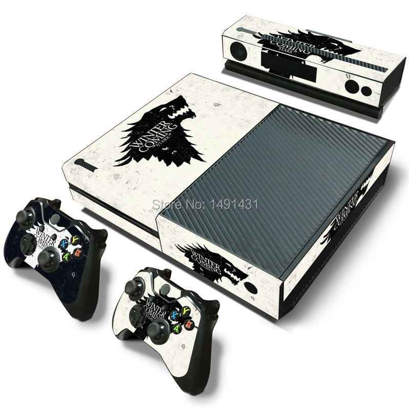 skin sticker for xbox one PVC cover for font b console b font gamepad kinect skins