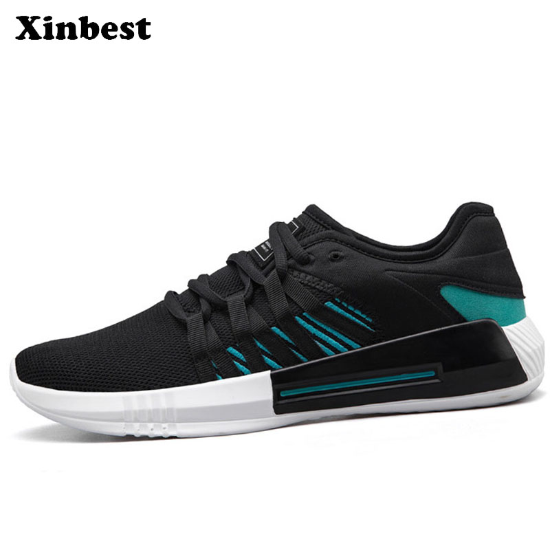 Xinbest Men Skateboarding Shoes Man Brand Summer Breathable Mesh Sport Shoes For Men Sports Run Outdoor Athletic Mens Sneakers