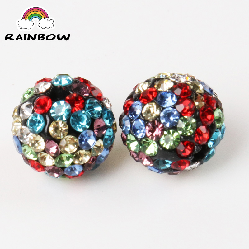 50pcs 10mm 33colors Shamballa Beads Crystal Disco Ball Beads Shambhala Spacer Beads Shamballa Bracelet Crystal Clay Beads 100% High Quality Materials Beads & Jewelry Making