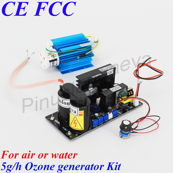 Pinuslongaeva 5G/H 5grams adjustable Quartz tube type ozone generator Kit Drinking water disinfection ozone module