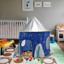 Tuch-Weltraum-faltendes Spielzeug-Zelt-Jurte-Kinderspiel-Haus-Zelte für Kinder Bestes Geburtstagsgeschenk Playhouse
