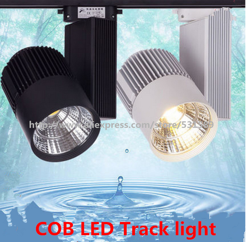 LED Track Light 40W COB Rail Light Spotlight strip Equal to 400w Halogen Lamp 110v 120v 220v 230v 240v Track Lamp Rail Lamp Bulb 40wcob led track light rail light spotlight strip equal to200w halogen lamp 110v 120v 220v 230v 240v track lamp rail lamp