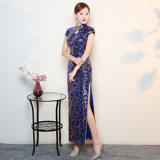 National Modern Chinese Women Traditional Dress Vintage Cheongsam
