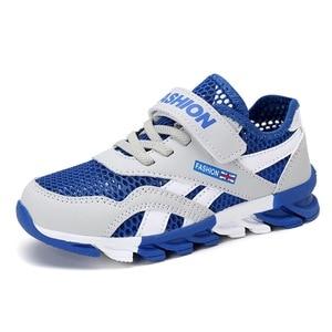 Image 1 - ตาข่ายระบายอากาศเด็กรองเท้าผ้าใบเด็กรองเท้าเด็กรองเท้าเด็กรองเท้ากีฬาโรงเรียนรองเท้าวิ่ง 28 30 31 32 33 34 35 36 37 39