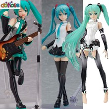 Figma Hatsune Miku Figma 394 Character Vocal Series 01 V4X 200/100/014 PVC Action Figure Collectible Modelo brinquedo(China)