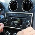 Консоль приборной панели CD панель кнопка ручка декоративная крышка gps Аудио наклейка радио накладка для jeep compass Аксессуары Для Интерьера