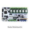 BIQU Румба Для 3d-принтер материнская плата MPU румба РУМБА оптимизированная версия Плата управления с 6 шт. A4988 Шагового Водителя
