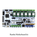 BIQU Rumba For 3D printer motherboard rumba MPU RUMBA optimized version control Board with 6pcs A4988 Stepper Driver