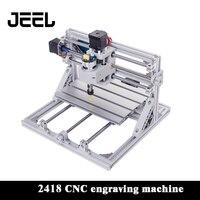 0 5 W-15 W CNC 2418 máquina de grabado 3 Pindle GRBL máquina de grabado láser cortador de madera/Router CNC2419 puede trabajar la máquina fuera de línea