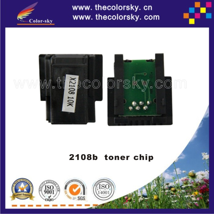 (TY-XDP2108) compatible toner cartridge reset chip for Xerox DocuPrint 2108b 2108 CT350999 bk (10k pages) бесплатная доставка горячей продажи smart electronics integrated circuit tlv3501aidrg4 ic comp r r 4 5ns hs 8 soic 3501 tlv3501 3 шт