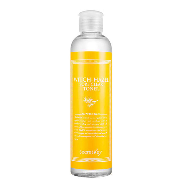CLAVE SECRETA de Hamamelis Poro Claro Toner 248 ml Hidratante y el poro Hidratante Para Blanquear El Acné Tratamiento Toners Cara