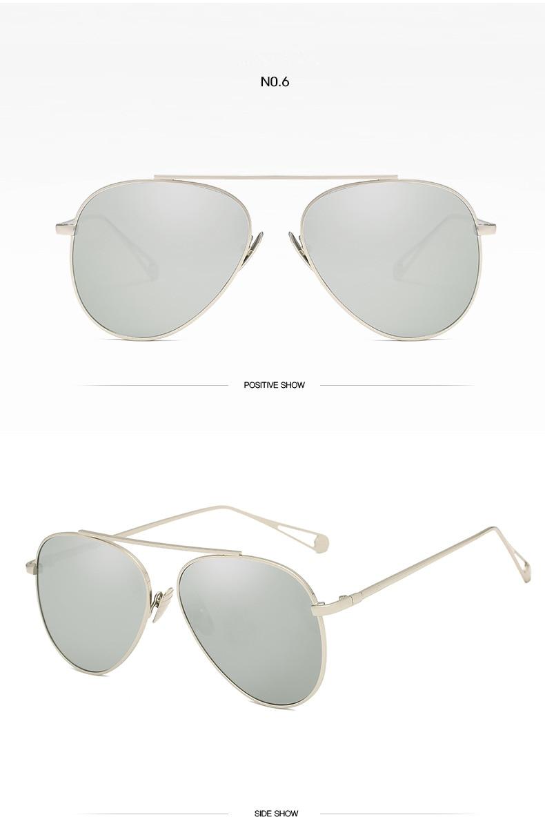 2020 Marca de Luxo Da Aviação óculos