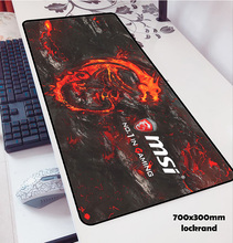 olwonow MSI mouse pads 70x30cm to mouse notbook computer gaming mousepad gamer