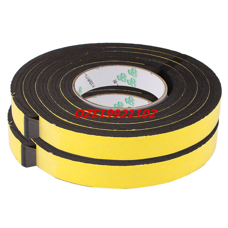 20 x 10mm Single Sided Self Adhesive Shockproof Sponge Foam Tape 2M Length 2pcs 2 5x 1cm single sided self adhesive shockproof sponge foam tape 2m length