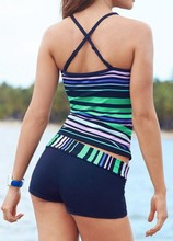 X-Back Tankini Suit