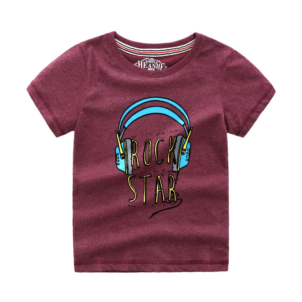Kids Tshirt Baby Boy Clothes Cotton Children T shirts for Boys Summer Tops Tees with Animal Applique Cotton Boys T shirts in T Shirts from Mother Kids