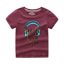Kids Tshirt Baby Boy Clothes Cotton Children T shirts for Boys Summer Tops & Tees with Animal Applique Cotton Boys T-shirts стоимость