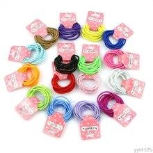 купить 2016 newest 10pcs Baby Girl Kids Tiny Hair Bands Elastic Ties Ponytail Holder free shipping по цене 41.03 рублей