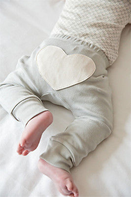 Baby Heart Printed Pants