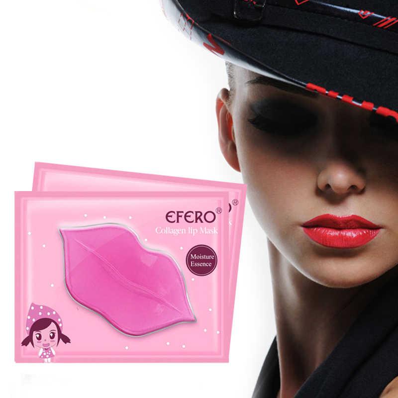 3 יח'\חבילה קולגן שפתיים מסכת קריסטל רפידות אנטי-הזדקנות קרום לחות Essencr אנטי קמטים שפתיים תיקוני שפות שמנמן עור טיפול