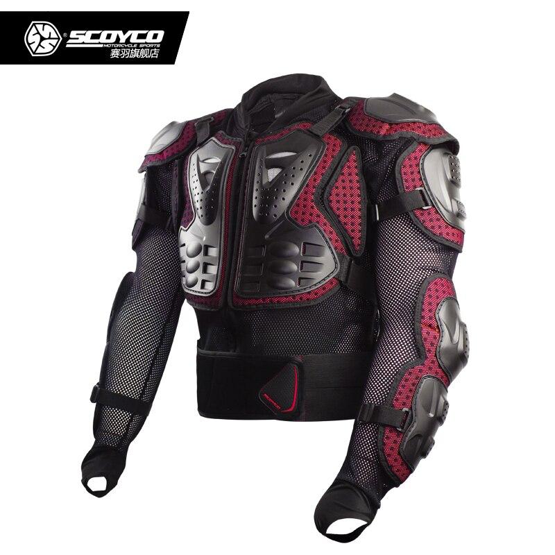 SCOYCO AM02 2 moto cross Body vêtements équestre moto rcycle protecteur moto protecto tout terrain moto rbike poitrine armure veste - 4