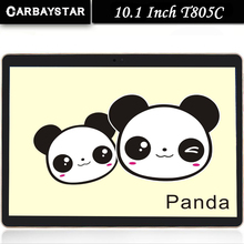Carbaystar t805c android 5.0 tablet pc de 10.1 pulgadas tablet pc smartphone 3G Quad Core 1280X800 2 + 16 Dual SIM IPS GPS FM tablet