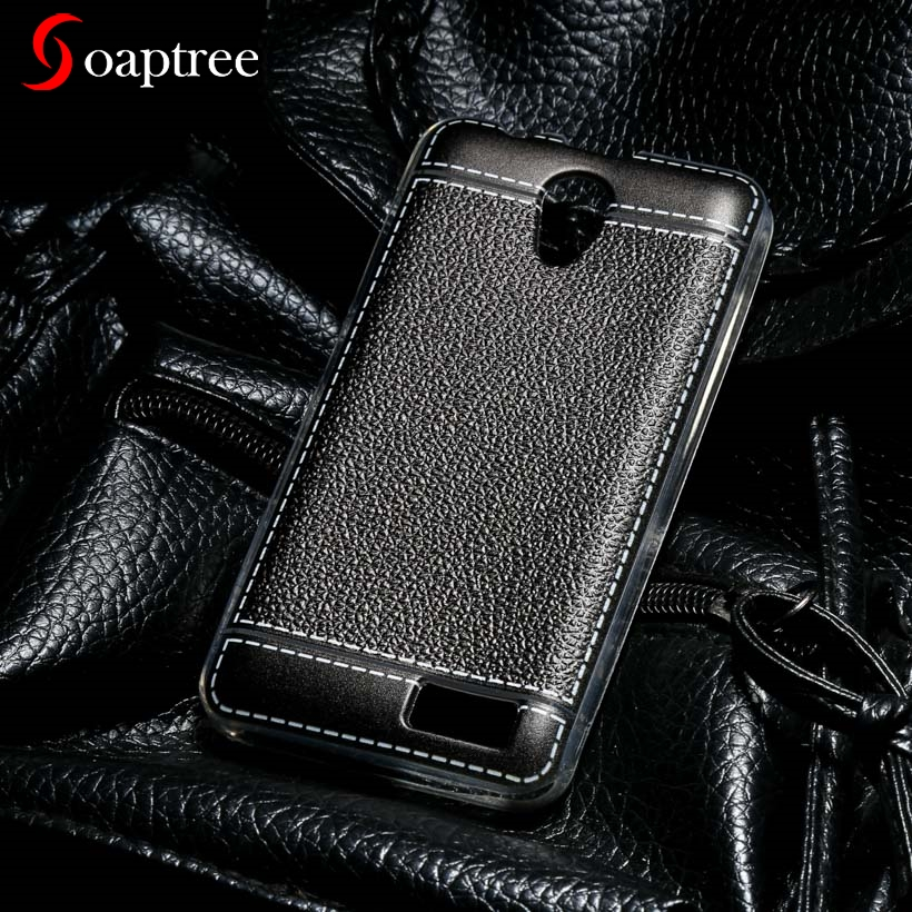 Soaptree Soft Phone Case For Lenovo A319 A328T A536 A358T A 536 Lenovo A606 A 319 A328 Plating Litchi Phone Cases Back Covers s