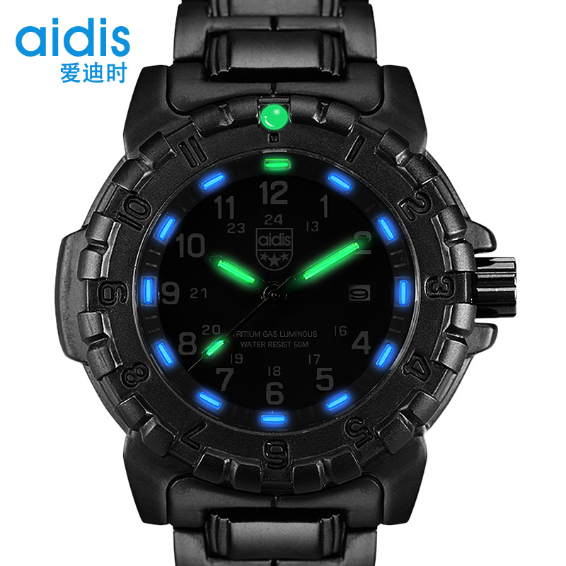 dp sports amazon watch luminous com wrist quartz black radium waterproof yazole watches