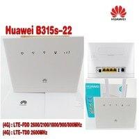 Huawei B315s-22 WLAN маршрутизатор-WLAN + 2 шт B315 антенна (логотип случайно)