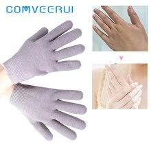 Питательный Спа гель увлажнение кожи перчатки омолаживающие Моющиеся Многоразовые Витамин Е отшелушивающая Нестареющая красота маска для рук VC03G