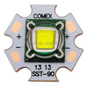Image 4 - 30W Luminus SST 90 SST90 Lạnh Trắng 6500K   7000K Xanh Dương 455NM Bóng Đèn LED Công Suất Cao Đèn 3.2 3.4V 5 7A Cho Ánh Sáng Sân Khấu
