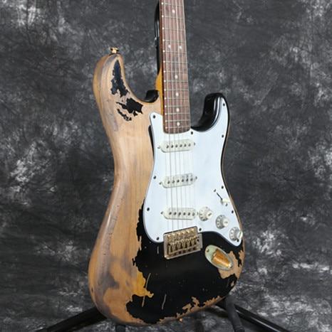 SR-017 - Relic Electric Guitar Handmade Hardware Alder Body