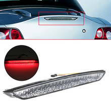 Third White & red Clear tail rear Brake Stop LED light Rear