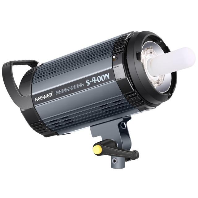 Neewer Flash Strobe Light Monolight 400W GN60 5600K with Modeling Lamp for  Studio Location Model Photography (S400N)EU Plug