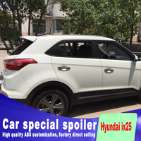 For Hyundai ix25 spoiler 2014 2015 rear window roof spoiler high quality ABS material by primer or DIY color paint For IX 25